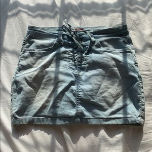 GUESS denim mini skirt